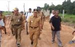 Gubernur Kalteng Tinjau Pembangunan Jalan Pangkalan Bun - Kolam