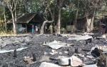 Rumah Kayu di Jalan Matal Ludes Terbakar