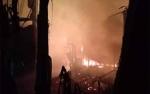 Kerugian Kebakaran Rumah dan Gedung Walet Rp1,3 Miliar