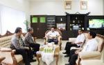 Bupati Barito Utara Terima Kunjungan Kepala Cabang PT Taspen Palangka Raya