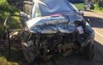 Mobil Dinas Kapolres Kobar Kecelakaan, Sang Supir Patah Tangan dan Kaki