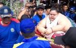 Detik-detik Menegangkan Titi Wati Berbobot 300 Kilogram Dievakuasi