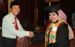 Wakil Bupati Sampaikan Pesan Khusus untuk Lulusan Perdana STIH Kuala Kapuas