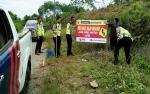 Satlantas Polres Barito Utara Pasang Imbauan untuk Kurangi Angka Kecelakaan