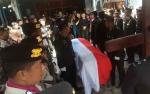 Kapolres Kobar Pimpin Prosesi Pemakaman Jenazah Briptu Rio Nanda Alexander Lubis