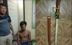 Pria Ini Ditangkap Karena Bawa Samurai
