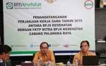 Lima Daerah di Kalteng Kerjasama dengan BPJS Kesehatan, Termasuk Palangka Raya