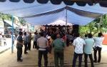Polsek Kapuas Hulu Lakukan Pengamanan Pesta Rakyat di Desa Tumbang Manyarung