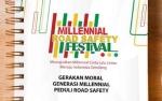 Satlantas Polres Barito Selatan Sosialisasikan Millenial Road Safety Festival 2019
