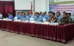 Bupati Gunung Mas Video Conference dengan Gubernur Kalteng