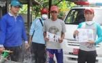 Petugas Dinas Kesehatan Kapuas Lakukan Fogging di Kelurahan Selat Utara