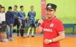 Bupati Seruyan Buka Turnamen Futsal Darul Mukmin Cup III