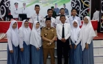 Bupati Seruyan Hadiri Pelantikan HMI Univeraitas Darwan Ali