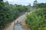 Bupati Murung Raya Terus Dorong Pembangunan Infrastruktur Pedalaman