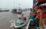 Puluhan Kapal Nelayan Meriahkan Syukuran Laut Kecamatan Jelai