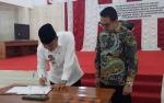 Pemkab Sukamara dan BPJS Ketenagakerjaan Tantangani Kesepakatan Bersama