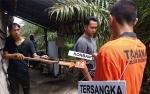 Rekonstruksi Adik Bunuh Kakak di Sampit