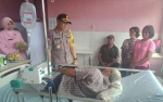Kapolres Barito Selatan Sambangi Warga Tidak Mampu dan Jenguk Pasien di Rumah Sakit