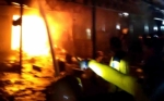 22 Kios di Pasar Ikan Kapuas Diperkirakan Ludes Terbakar