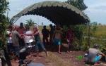 Tenda Darurat Didirikan Tampung Korban Puting Beliung di Desa Kahuripan Permai