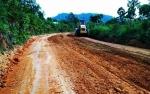 Perbaikan Jalan Ginih-Kinipan oleh Tiga Perusahaan Swasta Sudah Dimulai
