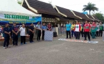 122 Jamaah Calon Haji Barito Utara Jalani Tes Kebugaran