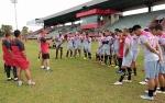 Latihan Ketahanan Fisik Modal Hadapi PSM Makassar