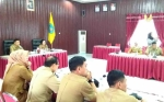 Wabup Lamandau Pimpin Rapat Koordinasi Penanggulangan HIV/AIDS