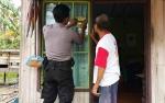 Polsek Kapuas Hilir Gelar Tok Tok Sambang Imbau Warga Jaga Keamanan