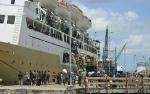 Jumlah Penumpang Transportasi Laut Meningkat