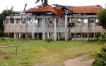 Bangunan Bekas Kantor KPU Seruyan Nyaris Ambruk