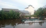 BKSDA Pasang Perangkap Buaya di Sungai Seranggas