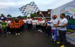 Warga Muara Teweh Ramaikan Millenial Road Safety Festival