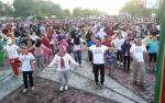 Ribuan Peserta Ramaikan Puncak Kegiatan Millenial Road Safety Festival di Lamandau