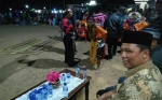 Bupati Lamandau Hadiri Pertunjukan Seni Tradisi Jaranan di HUT Sematu Jaya