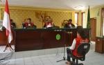 Sambil Menangis, Oknum DPRD Barito Timur Terdakwa Kasus Lakalantas Minta Keringanan Hukuman