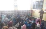 Murid TK dan PAUD Desa Tamban Luar Dihibur saat Kunjungi Dinas Perpustakaan Kapuas