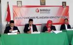 KPU Sukamara Diberikan Waktu Tiga Hari Jalankan PutusanBawaslu
