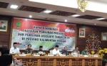 Gubernur Pimpin Rakor Persiapan Pilpres dan Pileg 2019 di Kalteng