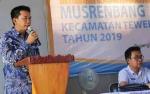Bupati Barito Utara Minta Camat Beri Pemahaman ke Masyarakat Soal Keterbatasan Anggaran