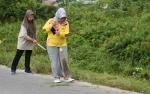 Bupati Kobar Gotong Royong Jumat Bersih di Daerah Tatas
