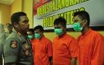Polres Palangka Raya Tangkap 4 Budak Sabu dalam Seminggu