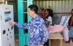 Mesin Pengering Jagung Vertikal di Desa Mampuak II Operasional