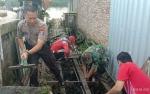 Jumat Bersih, Kapolsek MB Ketapang Gandeng Danramil, Camat, dan Lurah