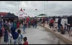 Pemancing Antusias Kunjungi Waterfront City Kampung Sega Mendawai