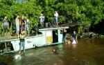 Kelotok Pengangkut Siswa SMA PGRI Sampit Karam di Sungai Mentaya