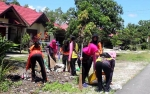 Peringati Hari Peduli Sampah Nasional 2019, Pengurus Cabang Bhayangkari Katingan Gelar Kerja Bhakti