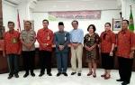 Kadisnakertrans Kop dan UKM Barito Utara Buka Pra RAT Koperasi Kredit Union Sumber Rezeki