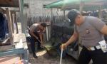 Anggota Polres Sukamara Gelar Bersih-Bersih Sampah Peringati HPSN 2019