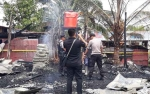 Ini Penyebab Terbakarnya Rumah dan Pabrik Batako